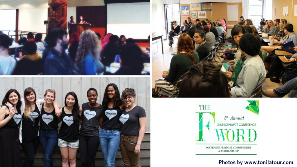 The 5th Annual F-Word Conference was held on May 3, 2014. Photos by Toni Latour